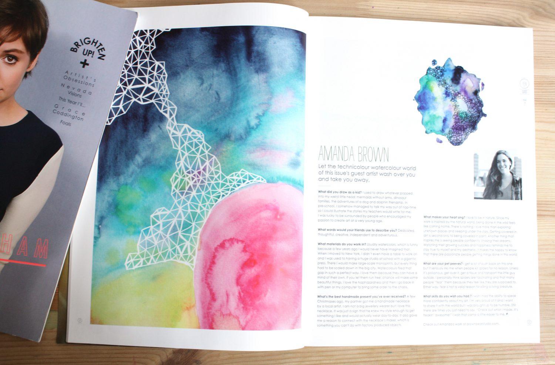 Amanda Michele Art in Yen Magazine