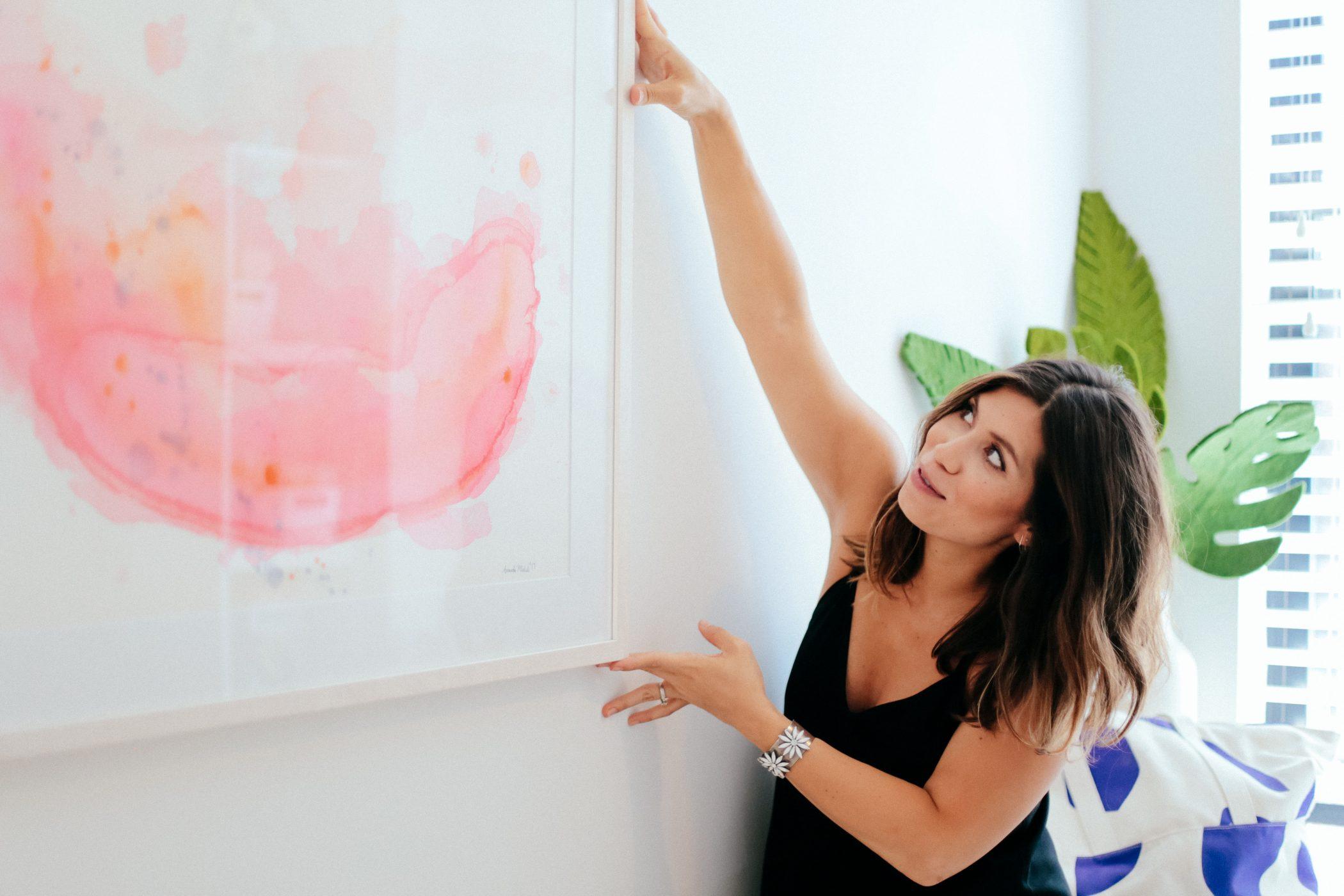 Natalie Commission by Amanda Michele Art