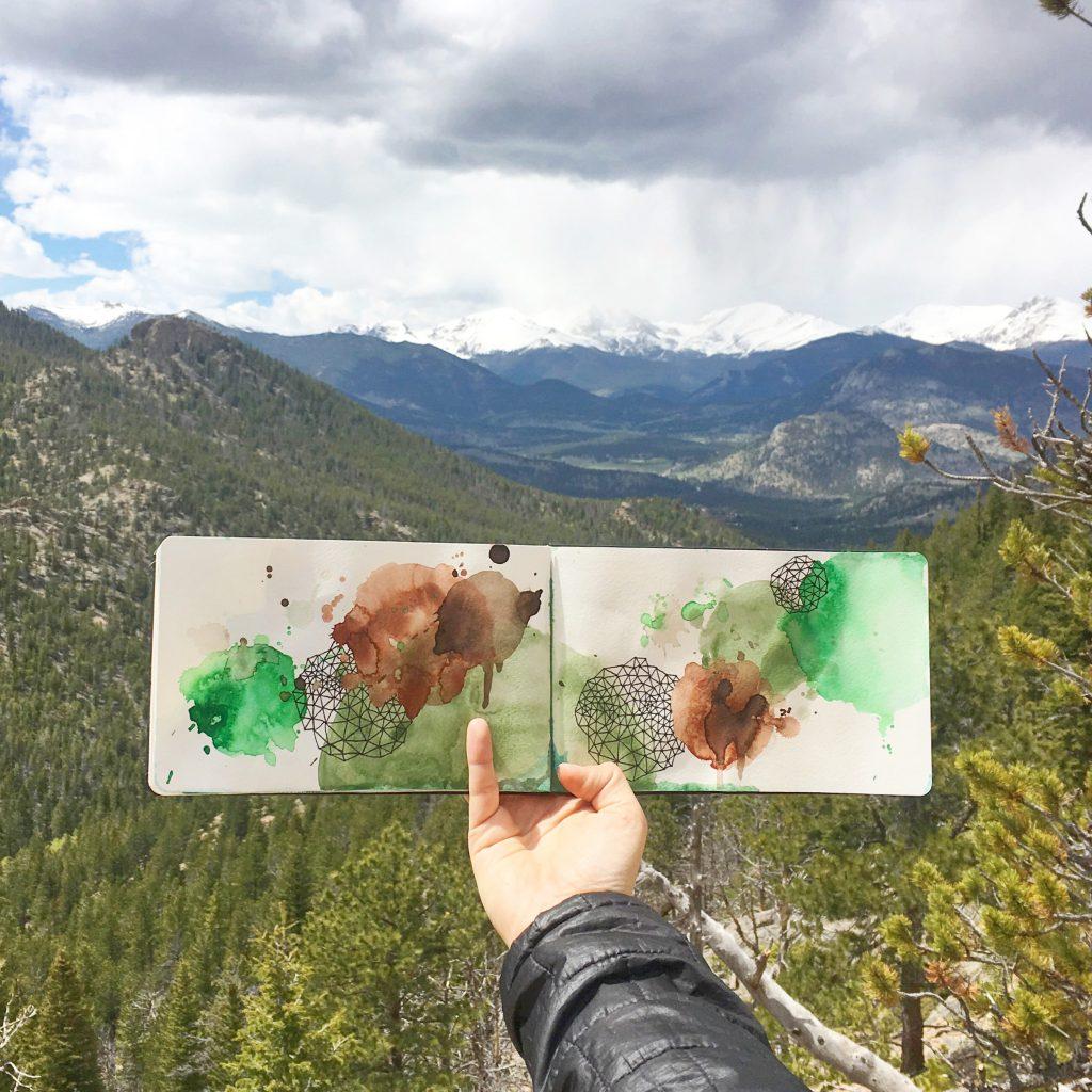 Colorado 2017 with Amanda Michele Art