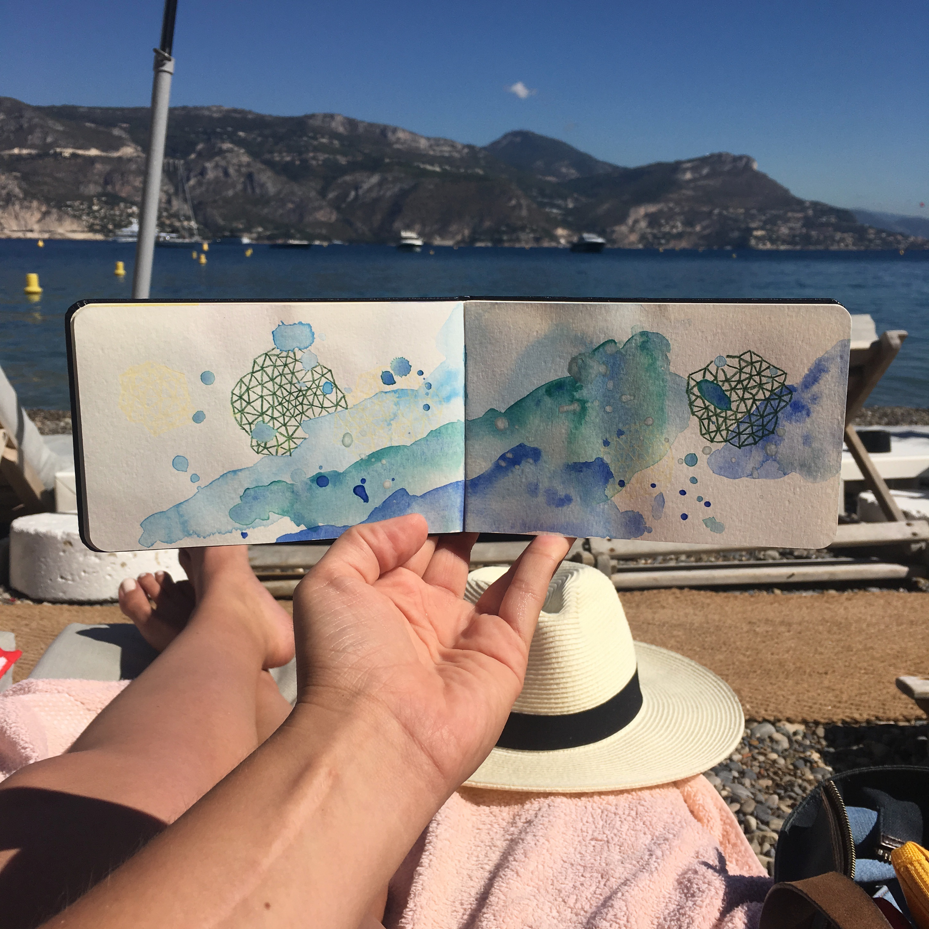 Amanda Michele's Travel Sketchbooks: Nice, France